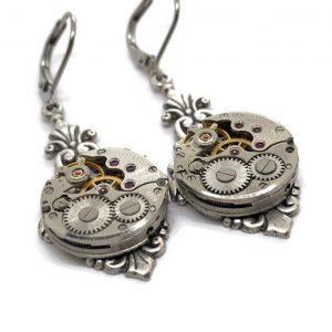 chaika-vintage-watch-earrings