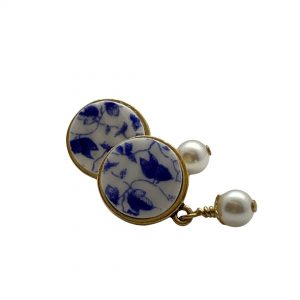 Dainty Blue Earrings