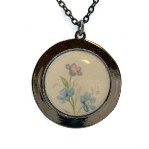 Memory Lane Broken China Pendant