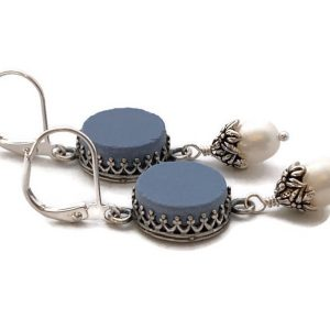 Wedgewood Earrings