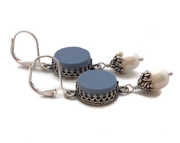 Wedgewood Earrings