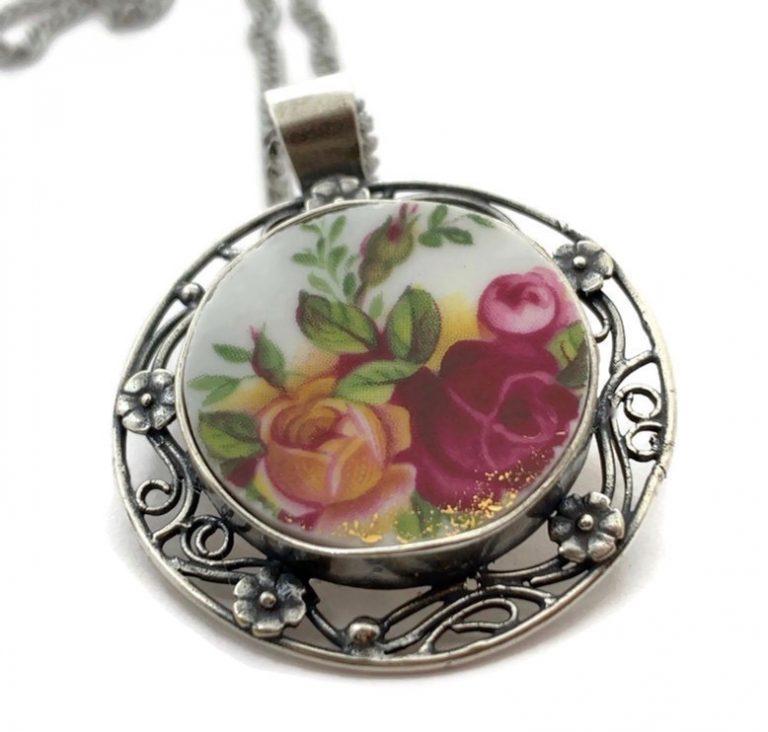 Rose Blossom Pendant